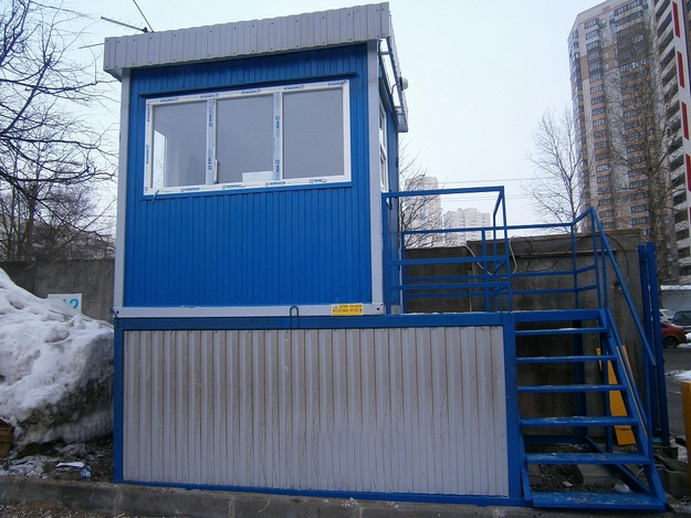 two-storey post security for the enterprise